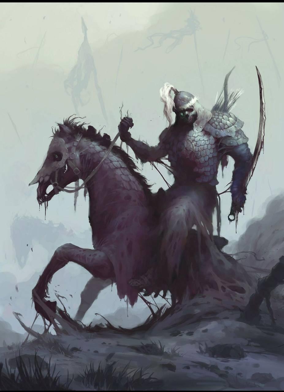 Undead Mongol