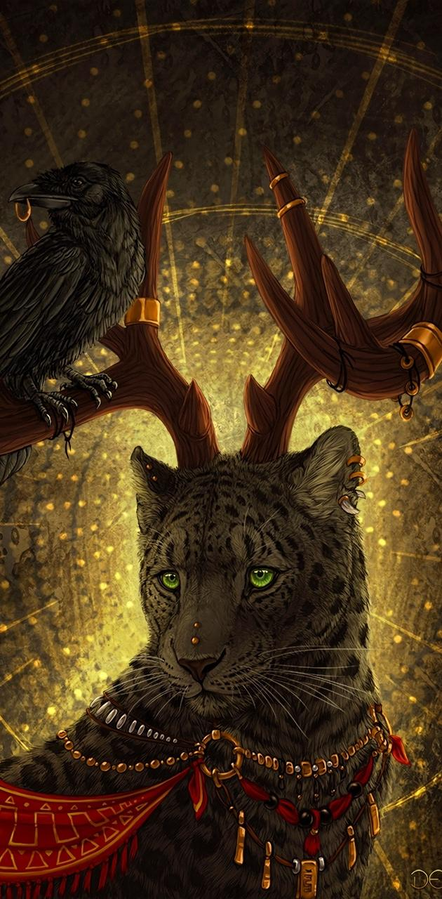 Leopard and Owl