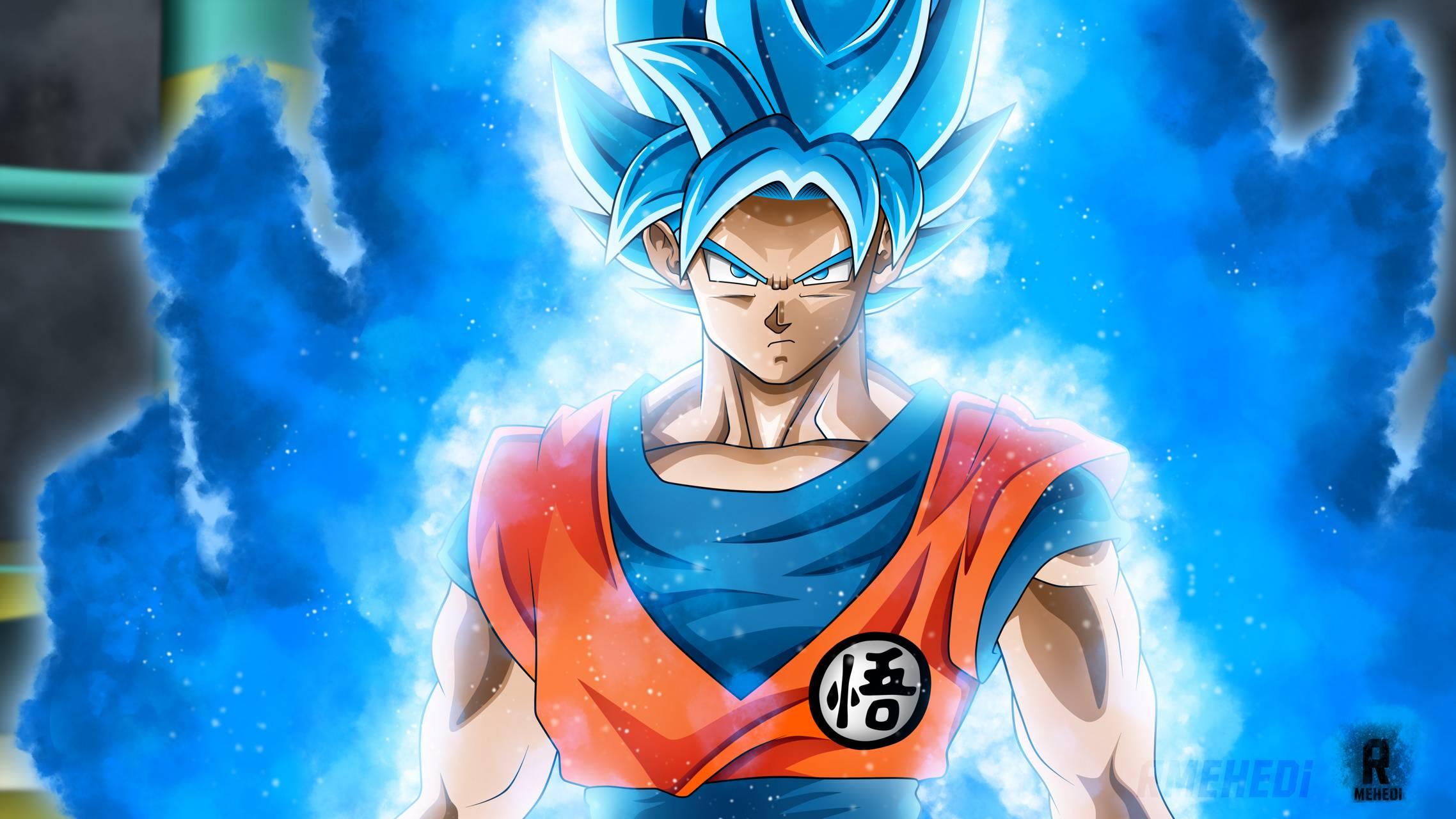 Saiyan Blue Goku