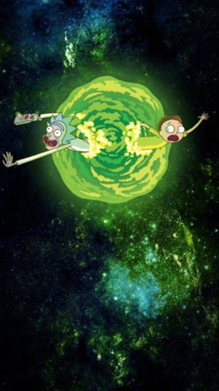 Free Download Trippy Rick And Morty Wallpaper Phone One Kitab