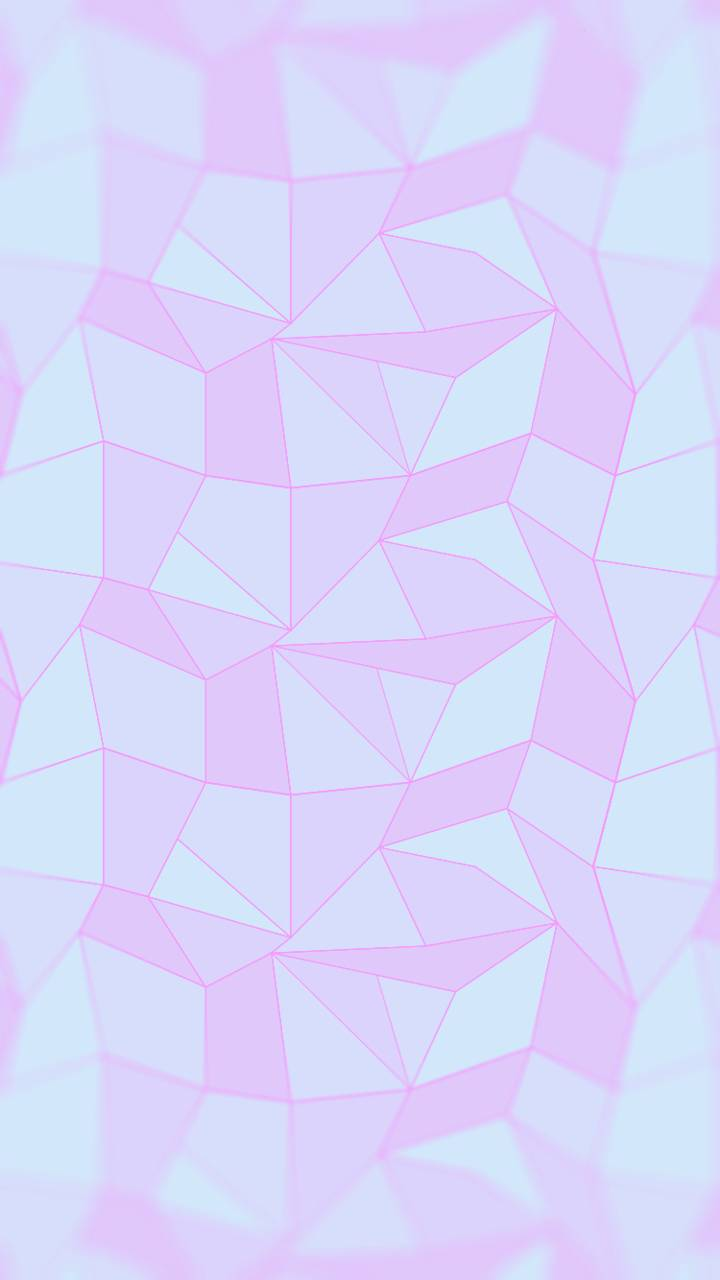 Pink polygonal