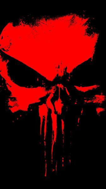 Punisher Skull Red