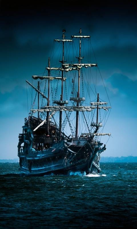 Lost pirate ship
