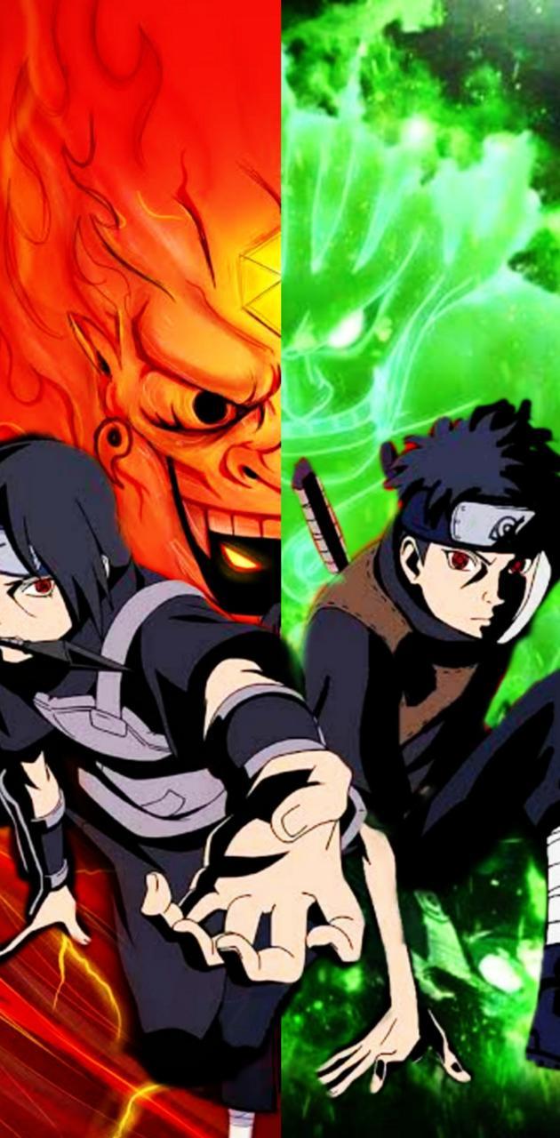Shisui e Itachi