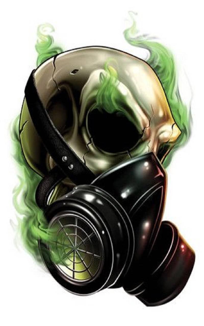 Gasmask Skull Wallpaper By Whiskylover98 85 Free On Zedge
