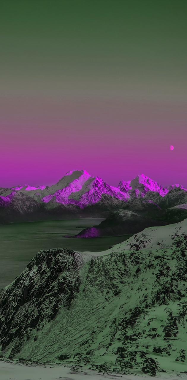 hd purple mountain