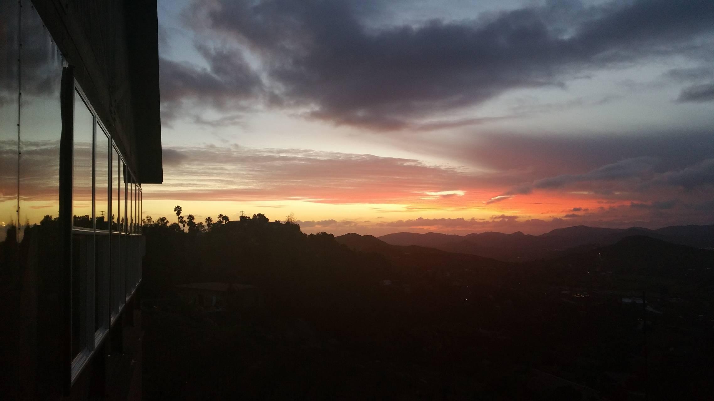 Sky dusk