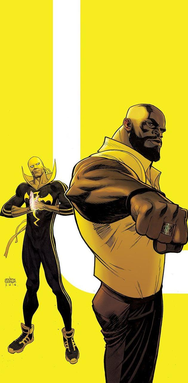 Cage and iron fist