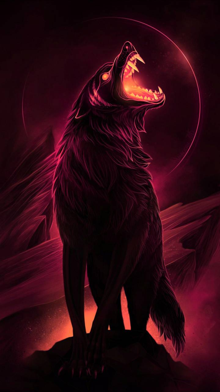 Angry Wolf Wallpaper By Georgekev 60 Free On Zedge