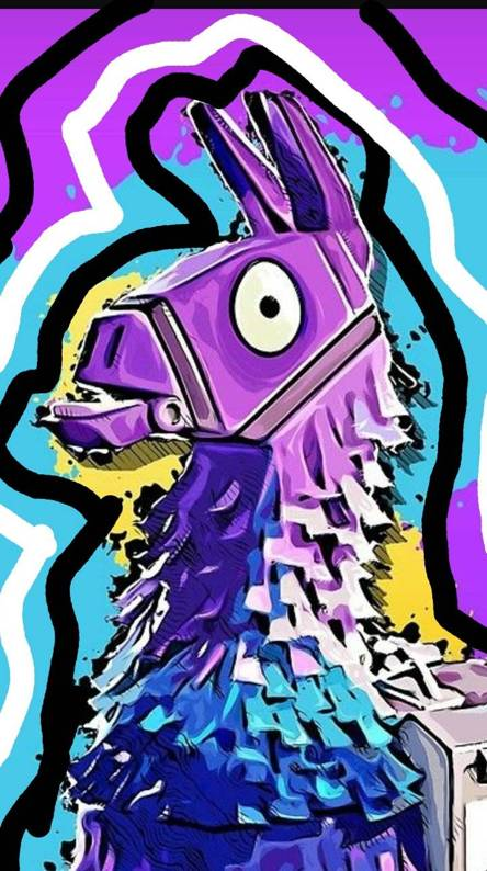 Fortnite Wallpaper Llama