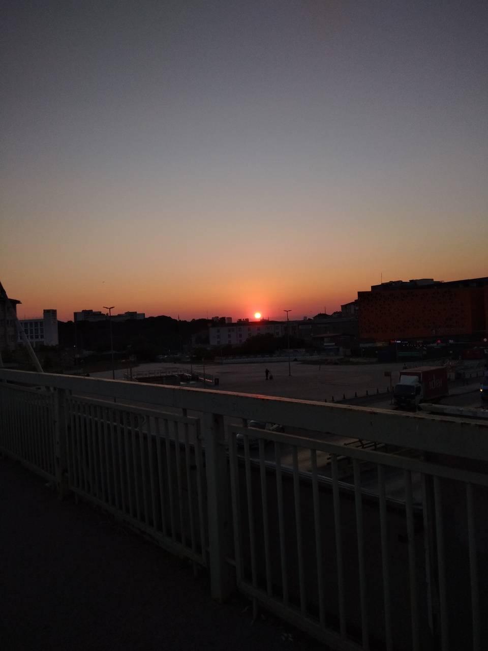 Gun batimi sunset