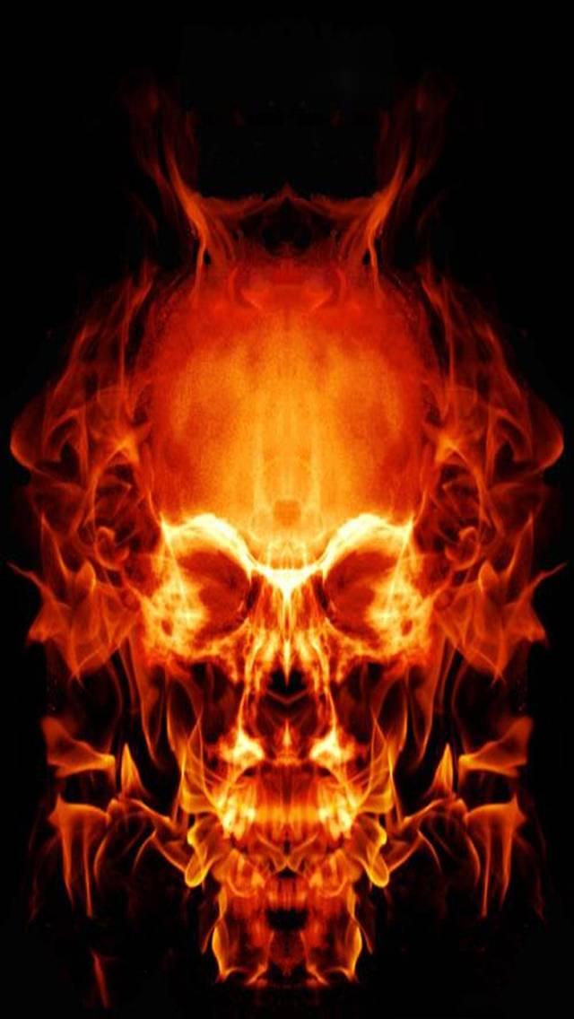 Fire Skull Wallpaper By Savanna 84 Free On Zedge