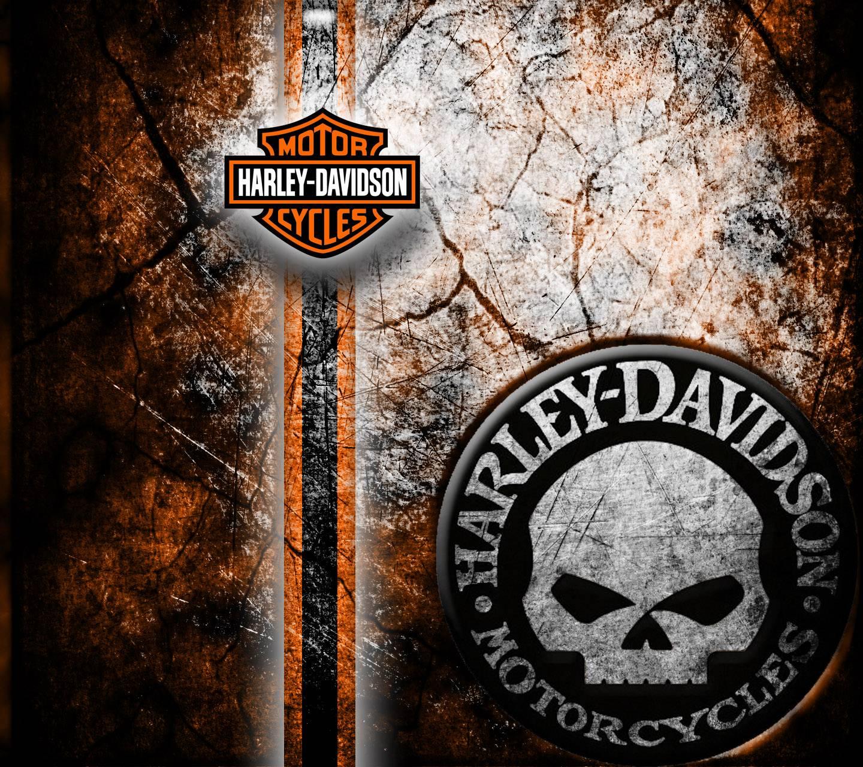 Harley Davidson Wall Wallpaper By Jansingjames