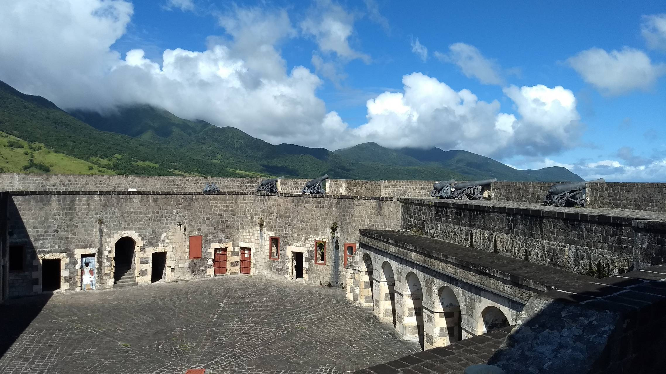 St Kitts fort