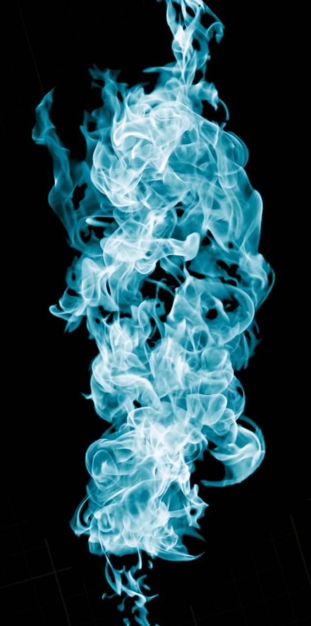 nyan blue flame