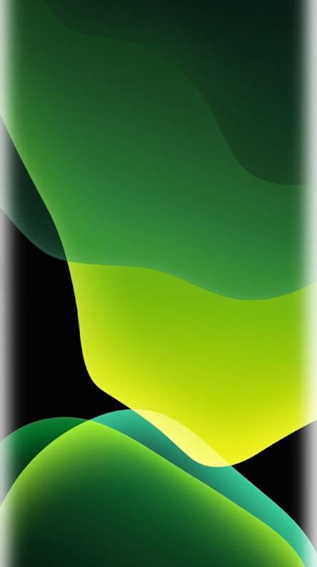 Ios 13 Wallpaper Dark Mode Green