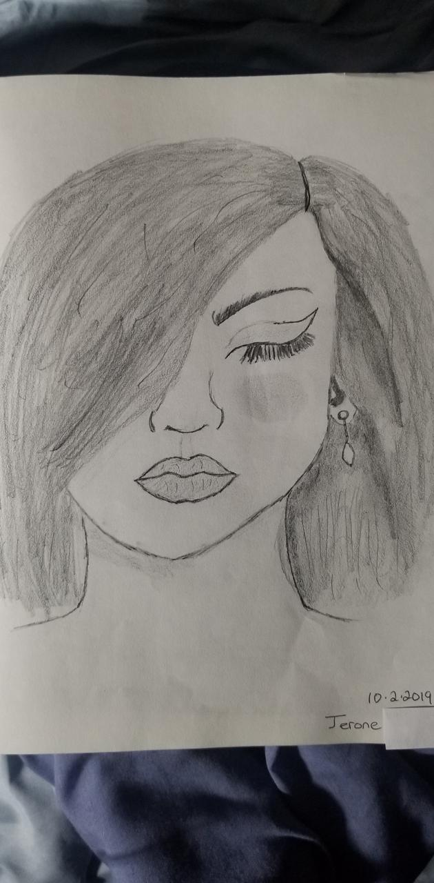 Sketched face