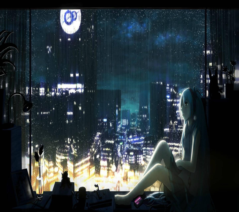 Anime City NightView