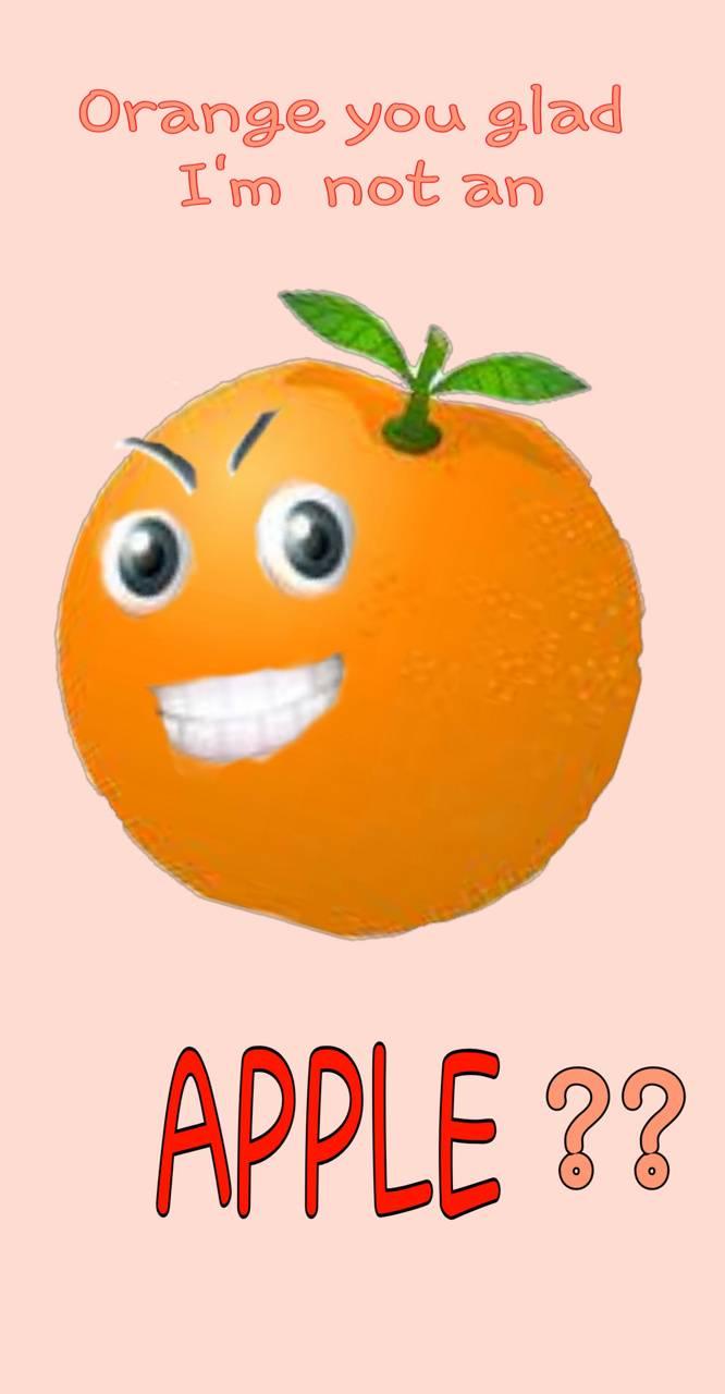 Knock knock orange