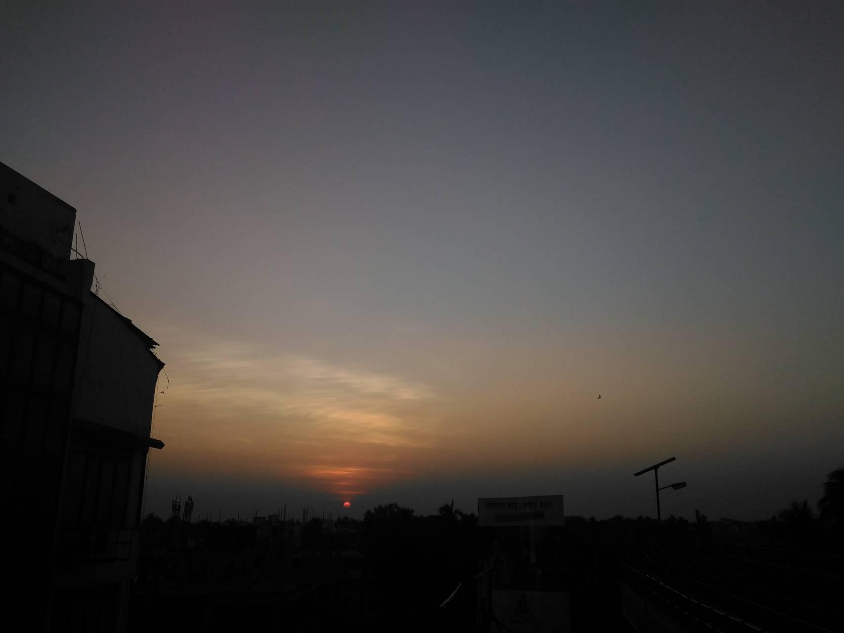 Evening last light