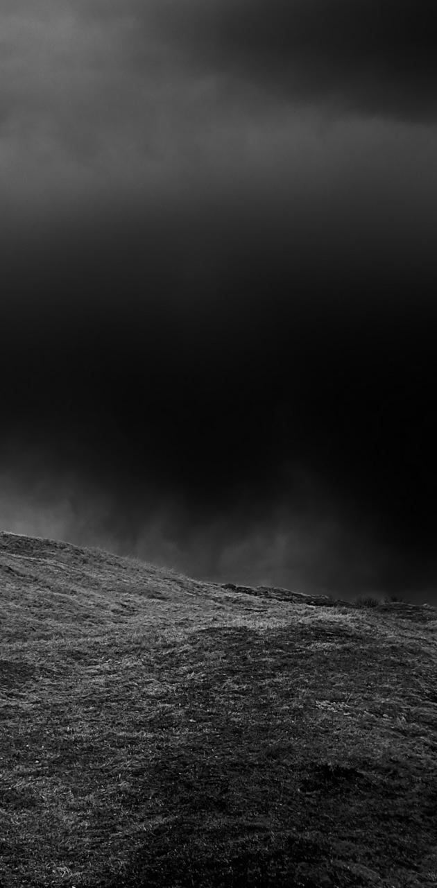 Dark hill