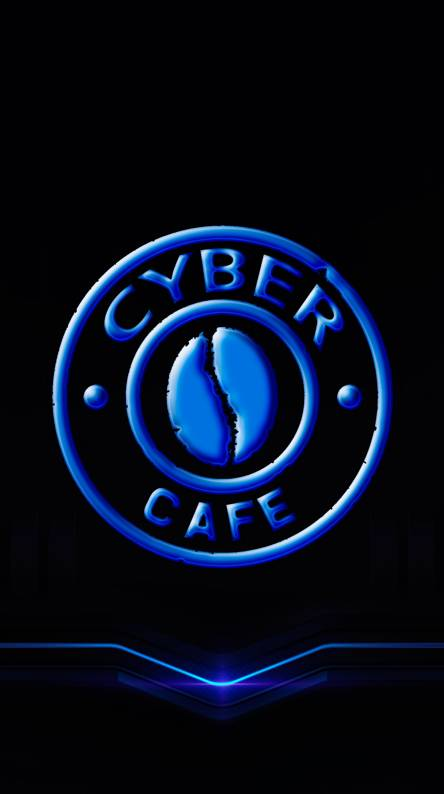 Blue Cyber Cafe