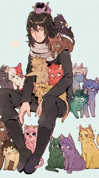 Bnha cats