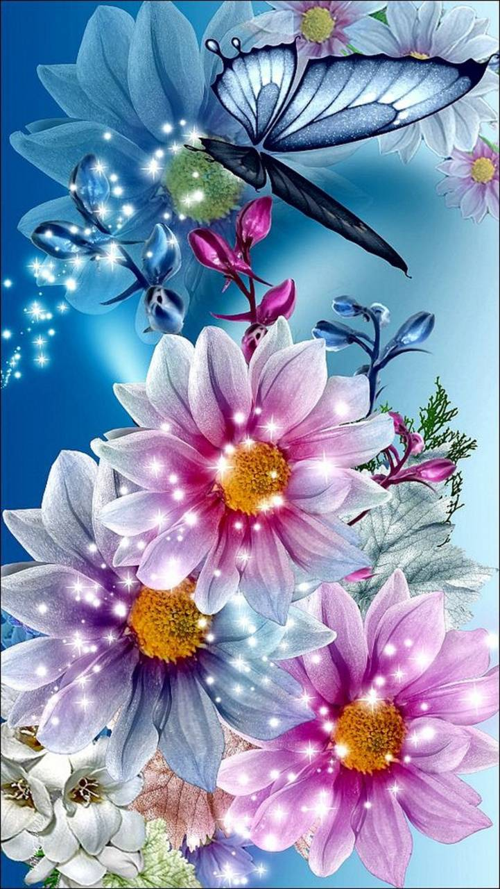 Butterfly Flowers Wallpaper By Mirapav B6 Free On Zedge