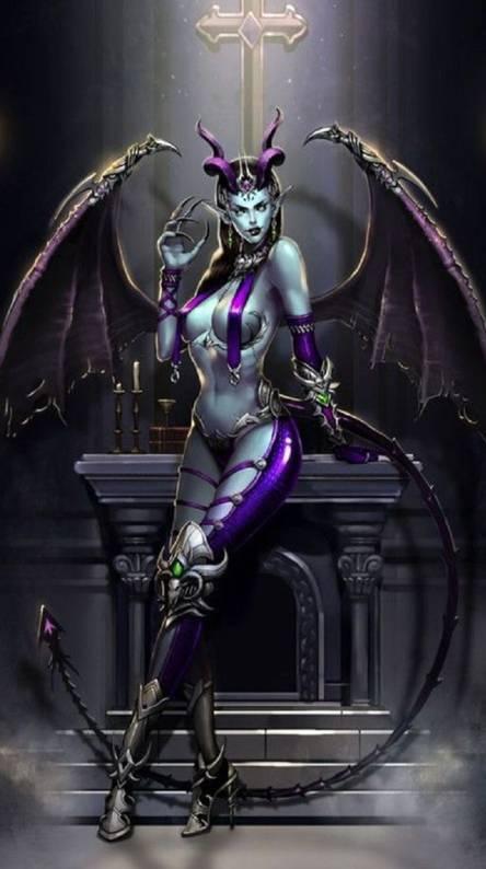 winged she demon