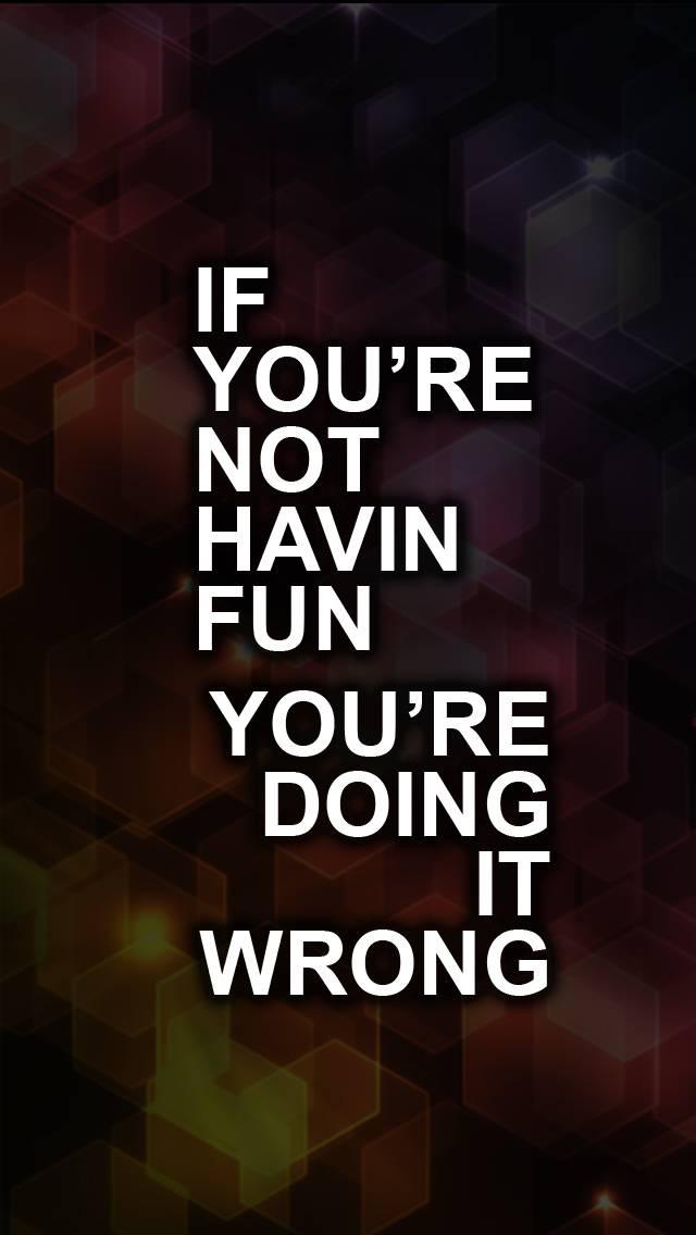 if youre doing wrong