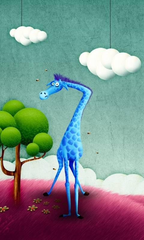 blue animal