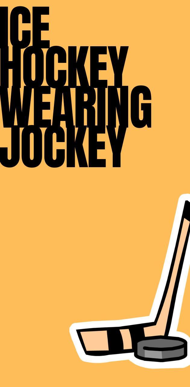 Ice Hockey Jockey