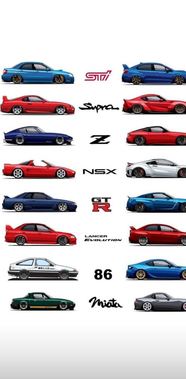 Japan love cars