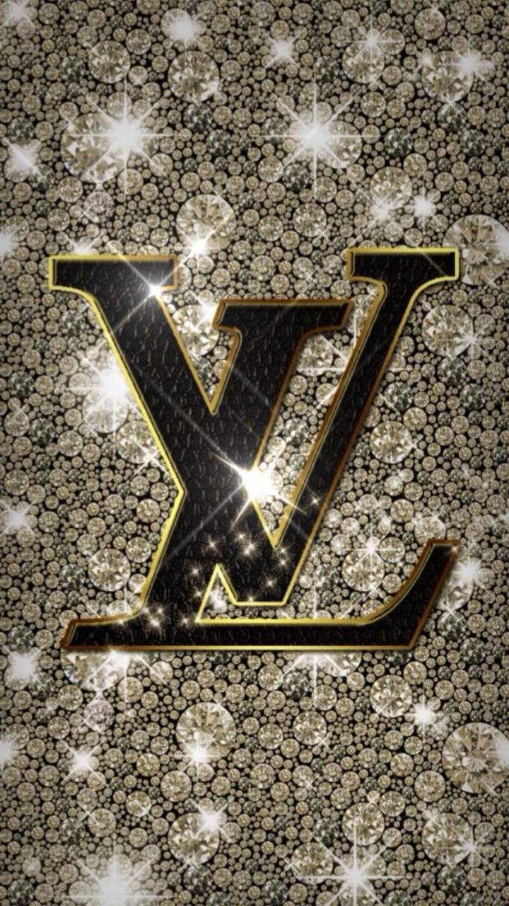 Gold Glitter LV