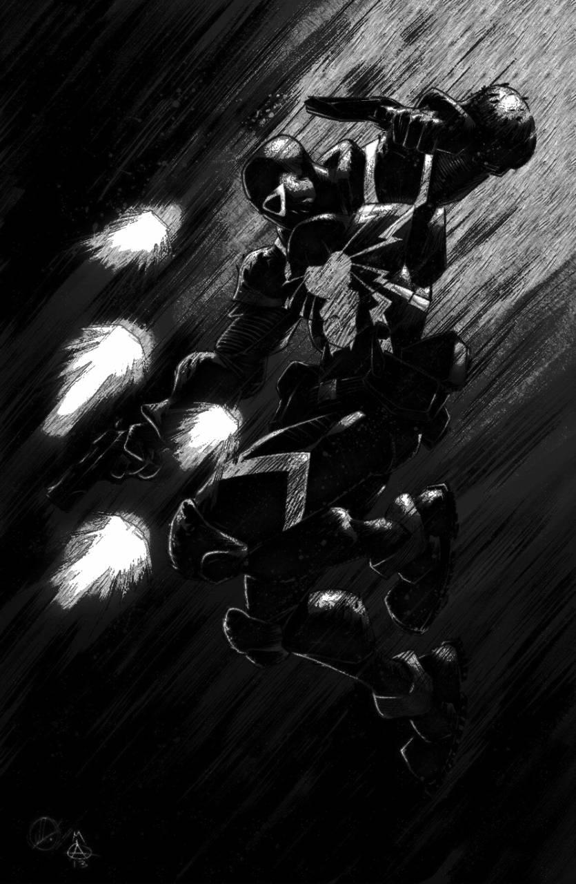 Agent Venom Pencil