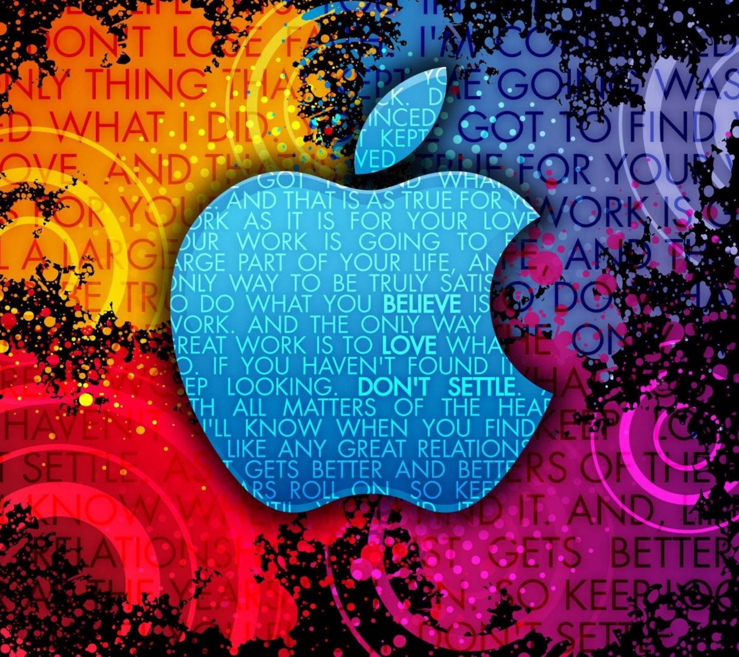 Abstract Apple Logo Wallpaper by JD_Bowers - e4 - Free on ...