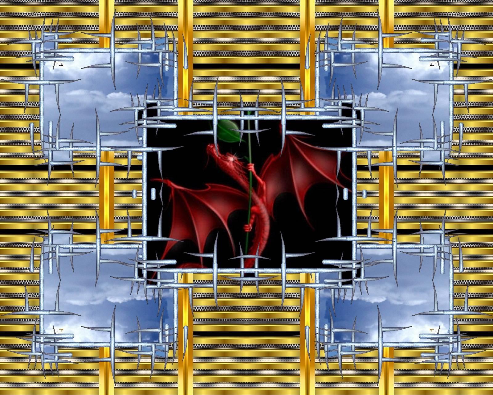 Red Dragon windows