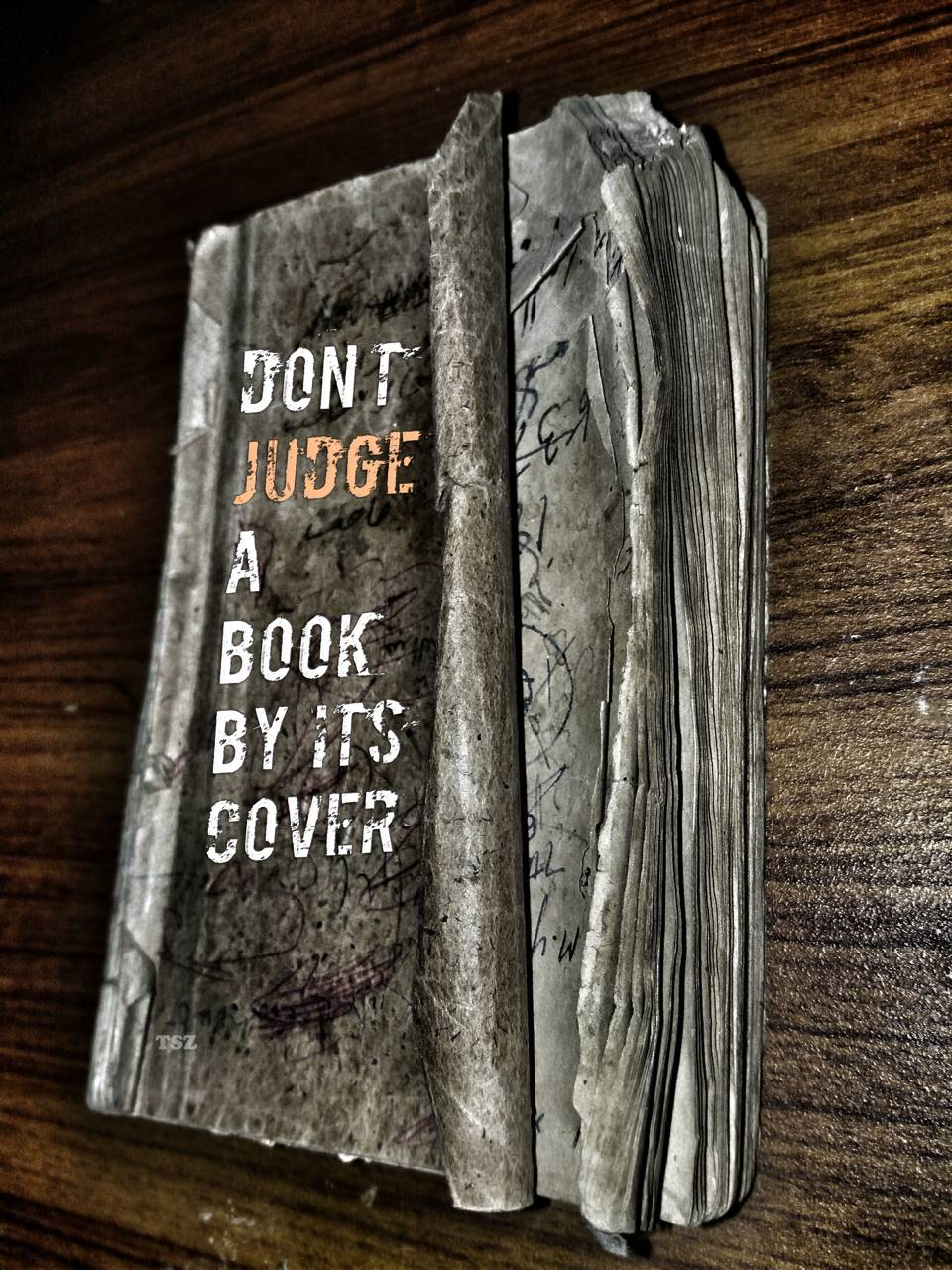 DONT JUDGE A BOOK BY