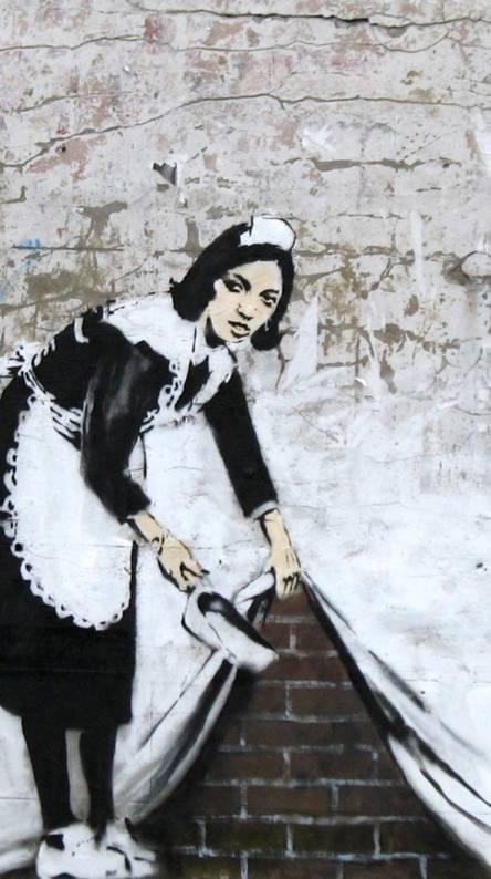 Banksy Graffity 3