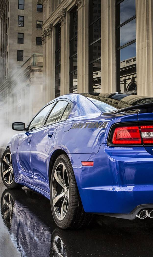blue charger