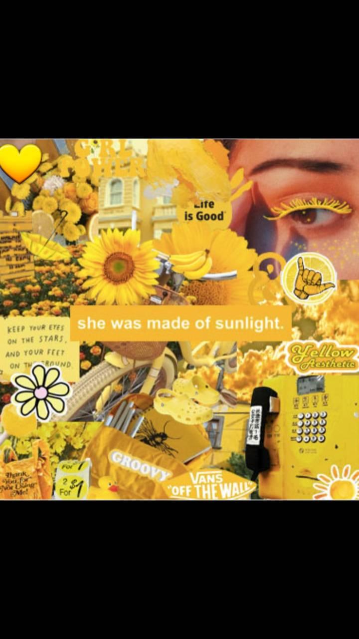 Yellow Aesthetic 1 Wallpaper By Unicorniesyt 5b Free On