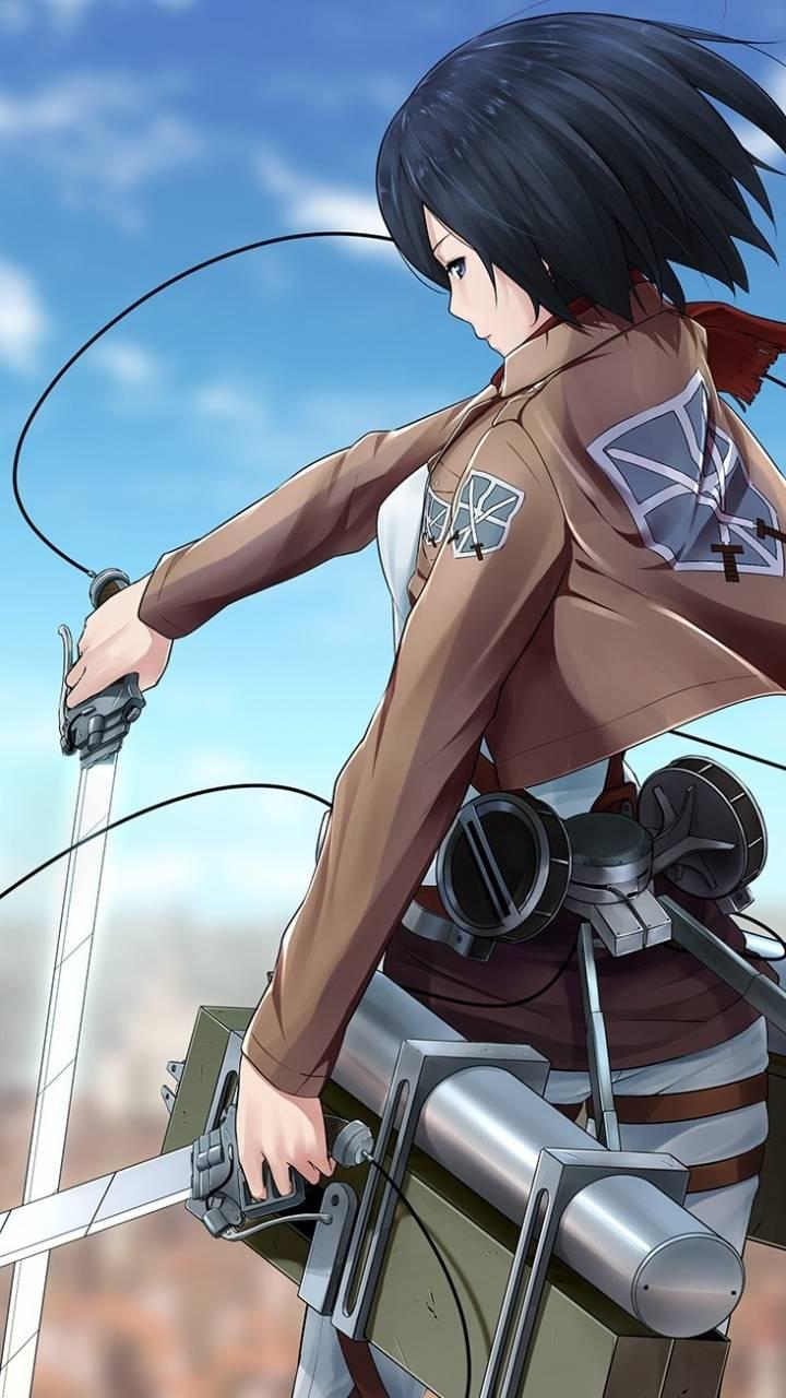 Mikasa Ackerman Wallpaper By Yaoiking69 45 Free On Zedge