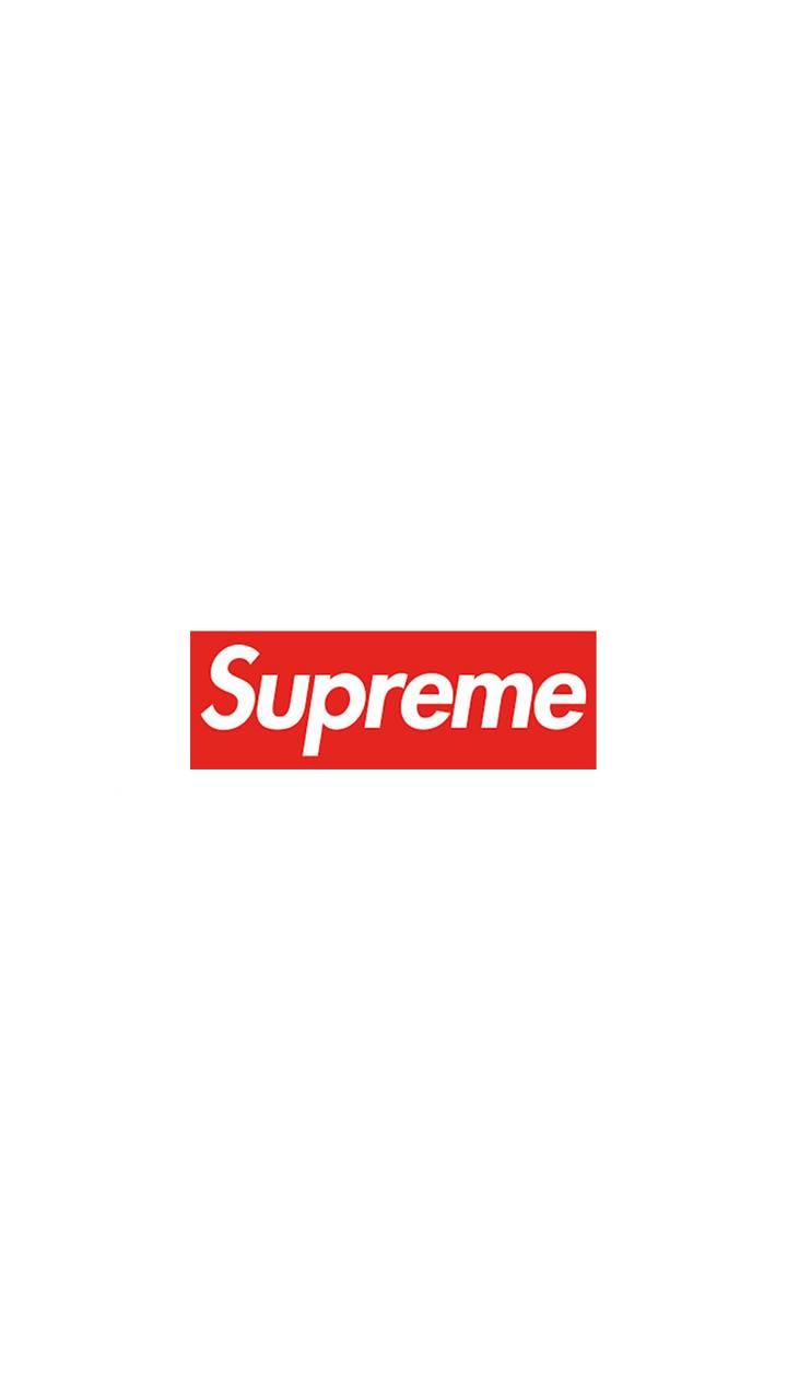 Supreme White Red