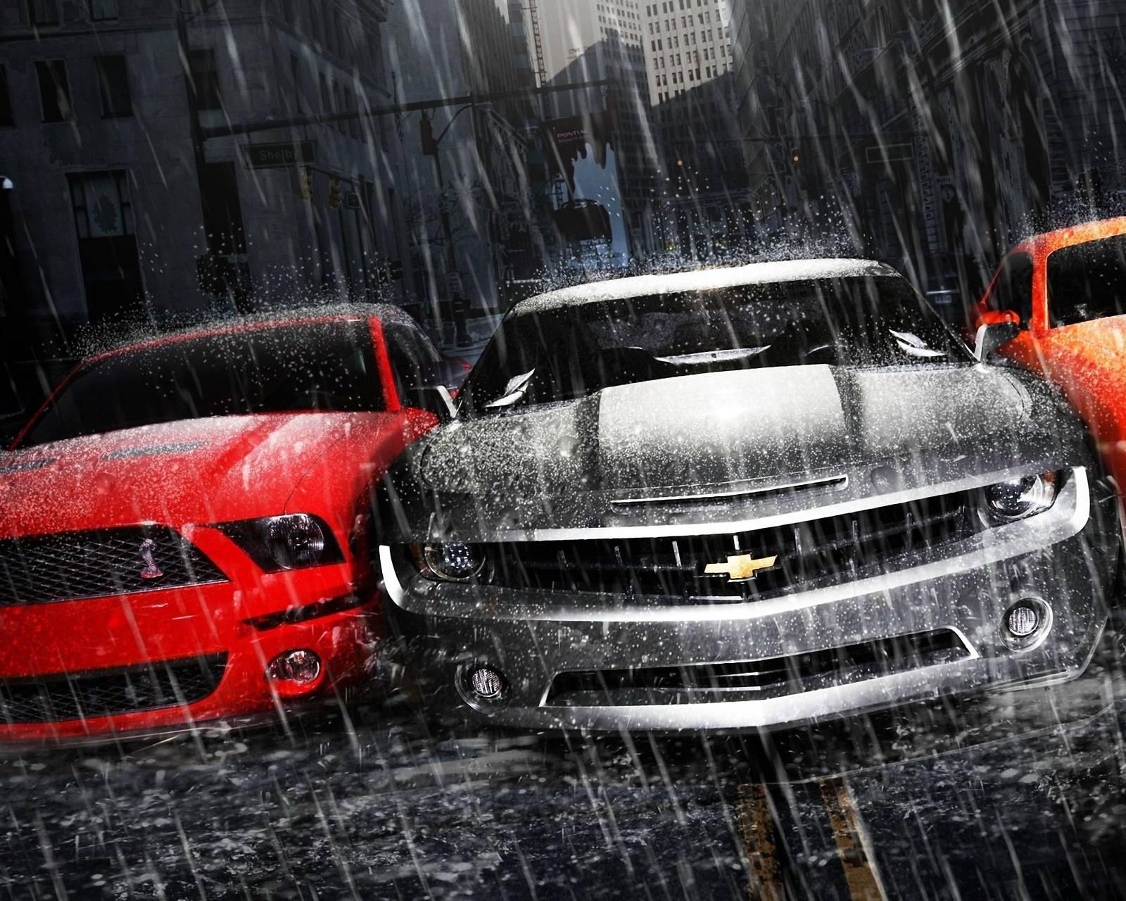 Mustang Camaro