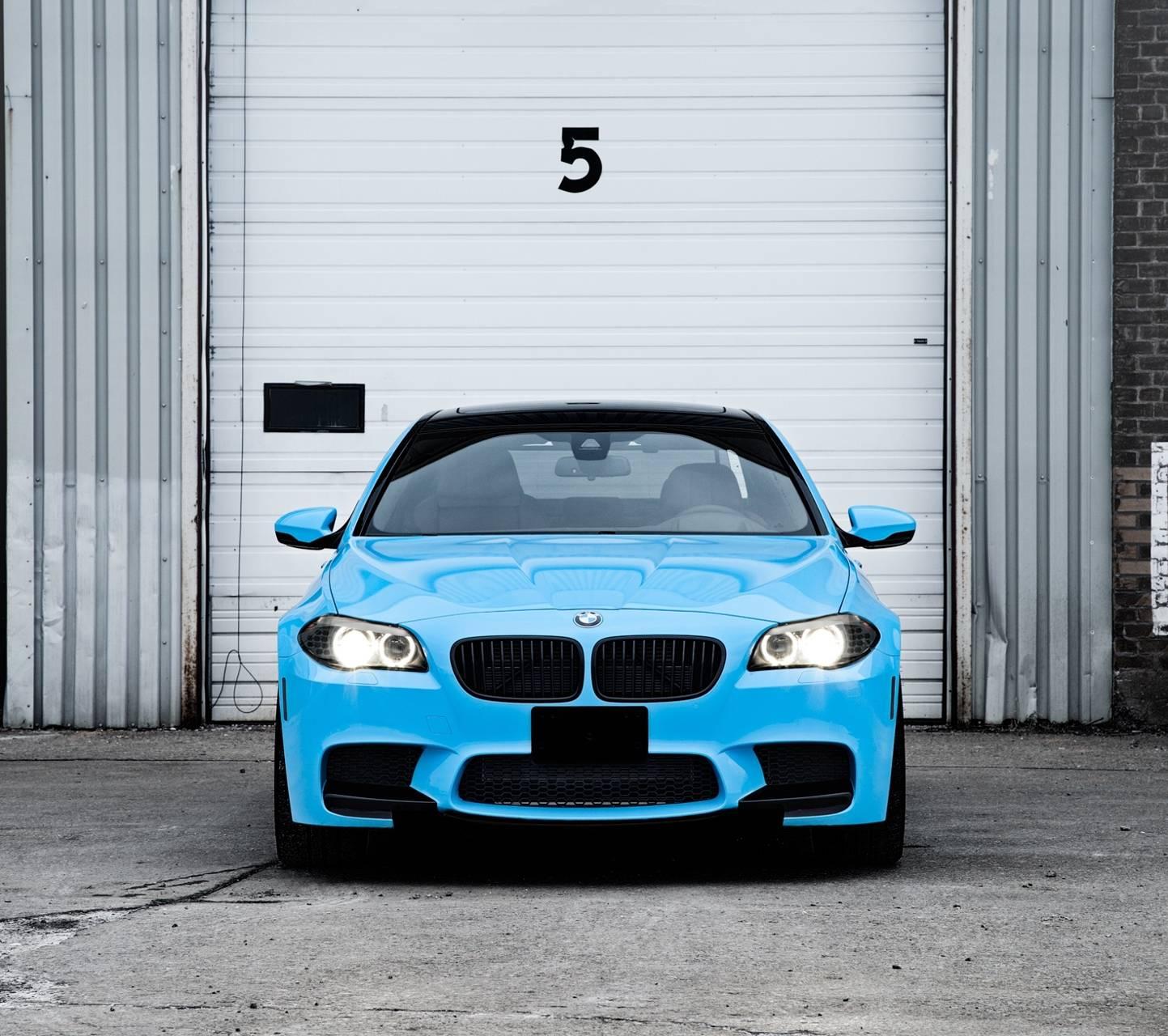 bmw blue car hd