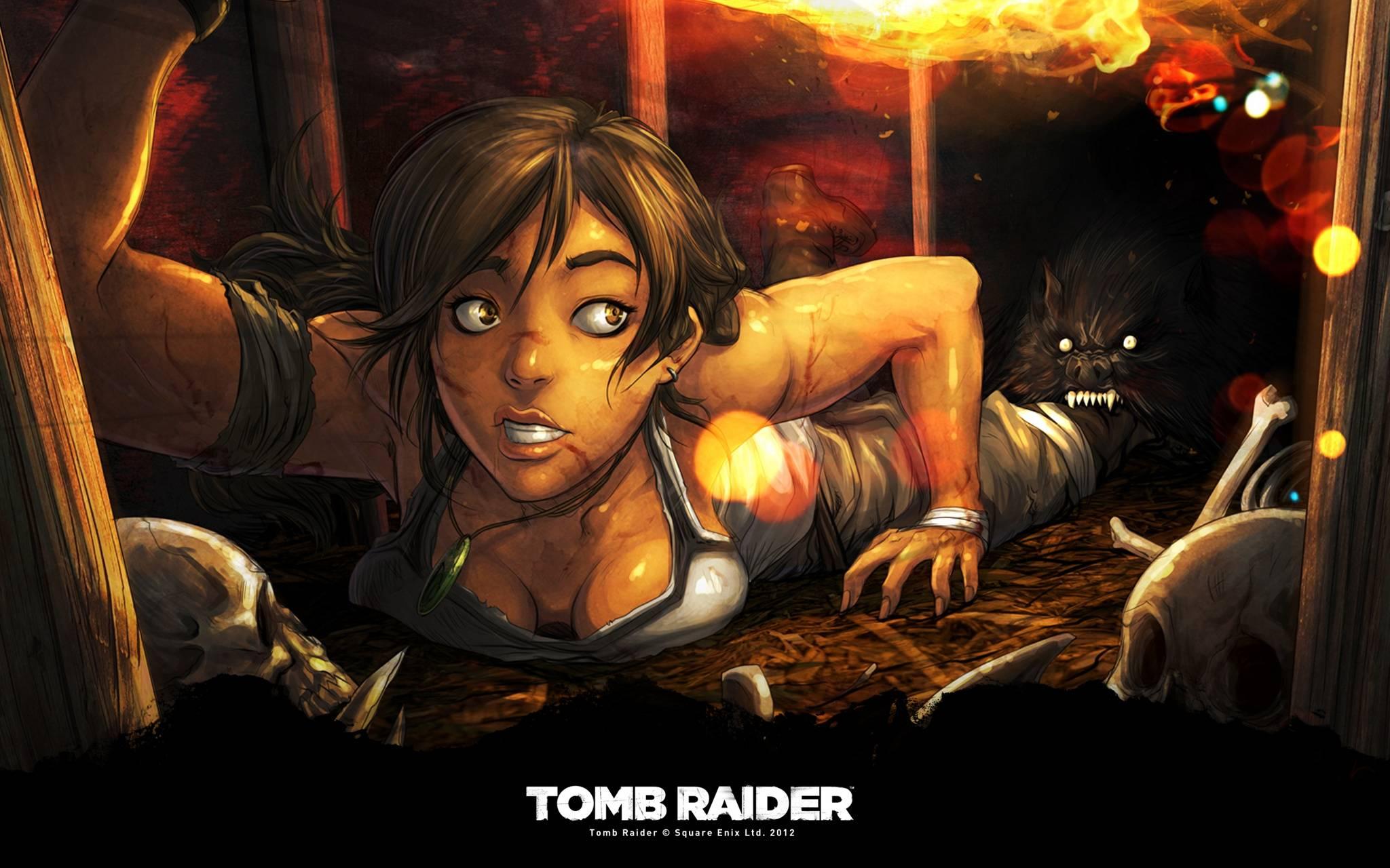 New Tomb Raider Art