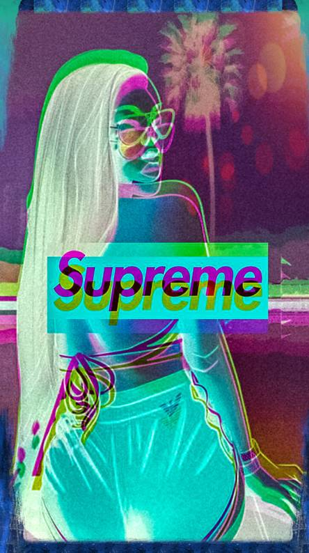 Supreme Girl Wallpapers Free By Zedge