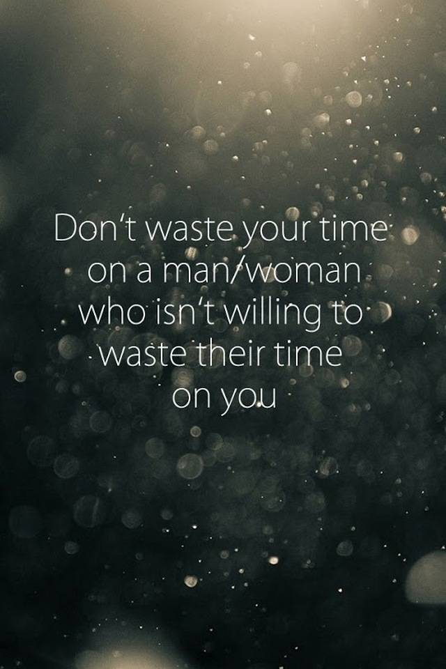 Stop wasting ur time