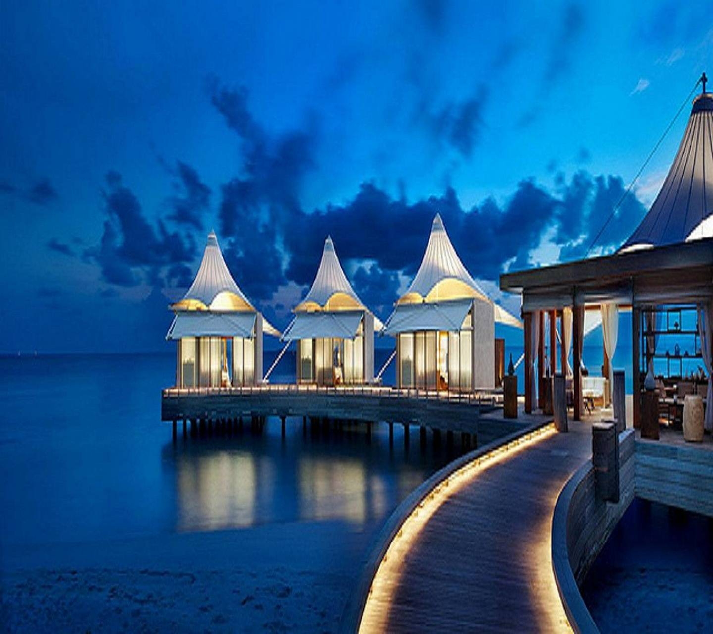 Maldives Night Wallpaper by ____S - 7d - Free on ZEDGE™