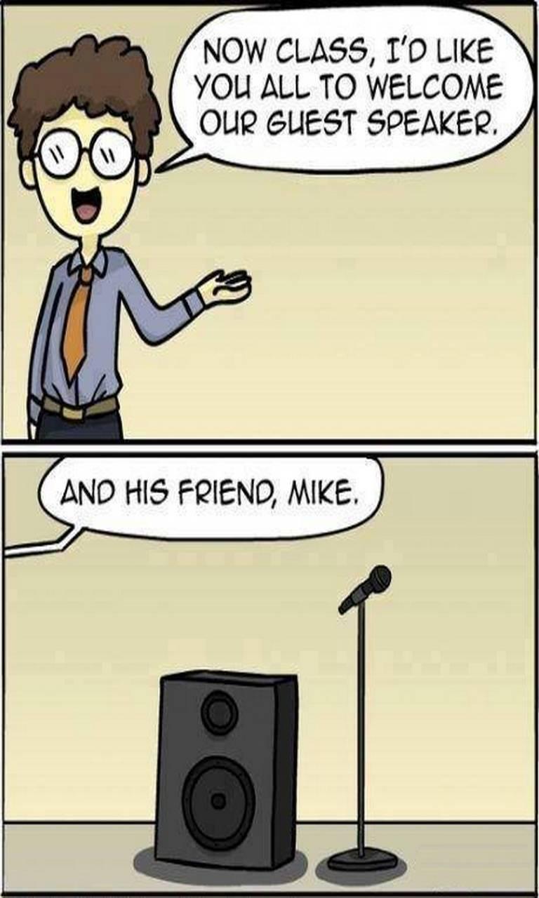 Speaker N Mike
